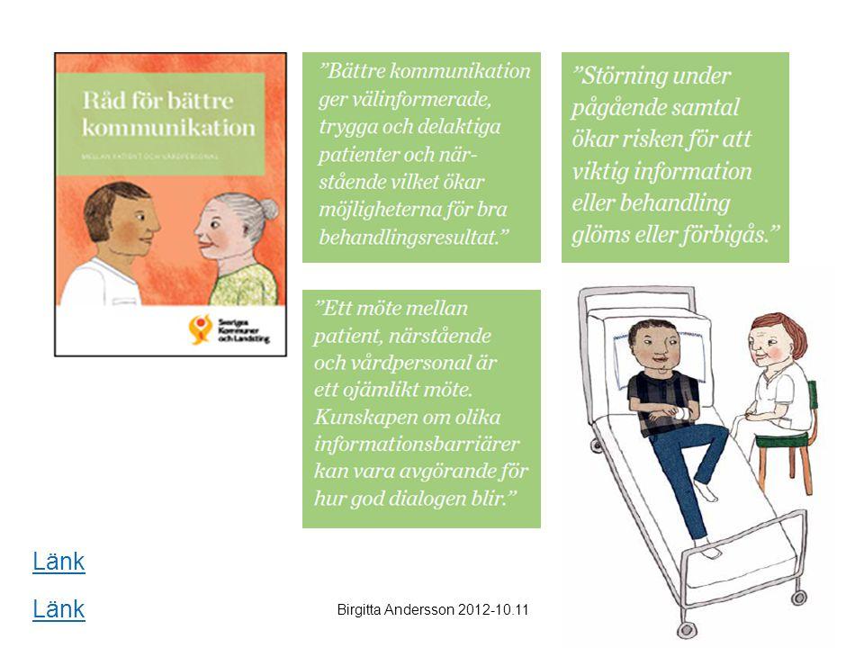 Länk Länk Birgitta Andersson 2012-10.11