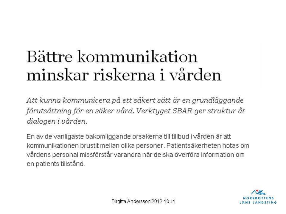 Birgitta Andersson 2012-10.11