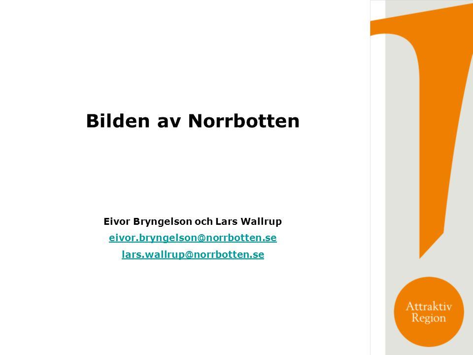 Eivor Bryngelson och Lars Wallrup