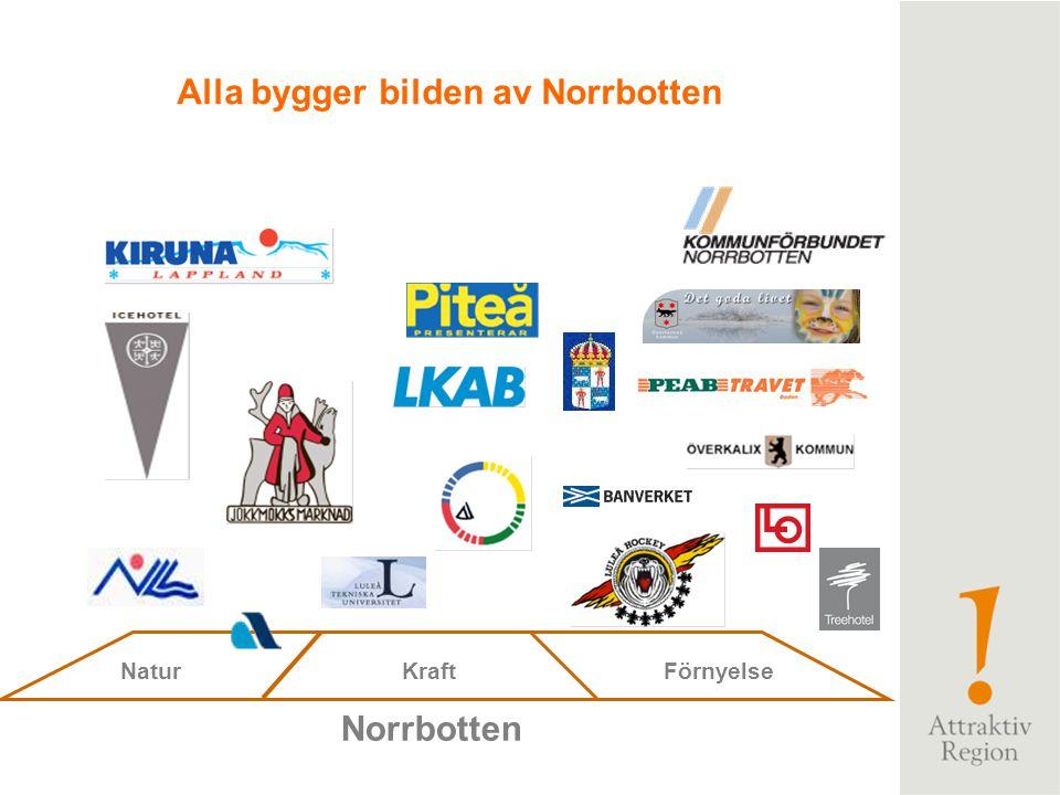 Alla bygger bilden av Norrbotten