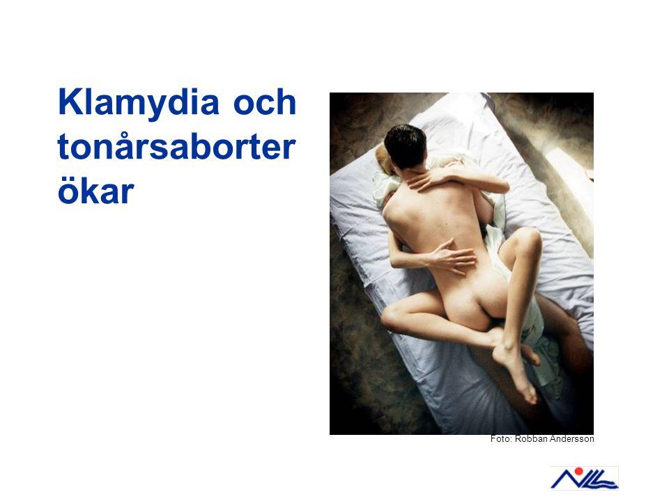 Klamydia och tonårsaborter ökar