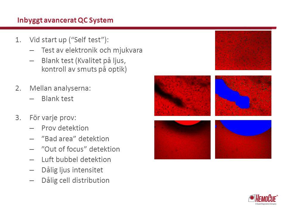 Inbyggt avancerat QC System
