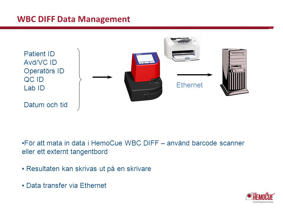WBC DIFF Data Management