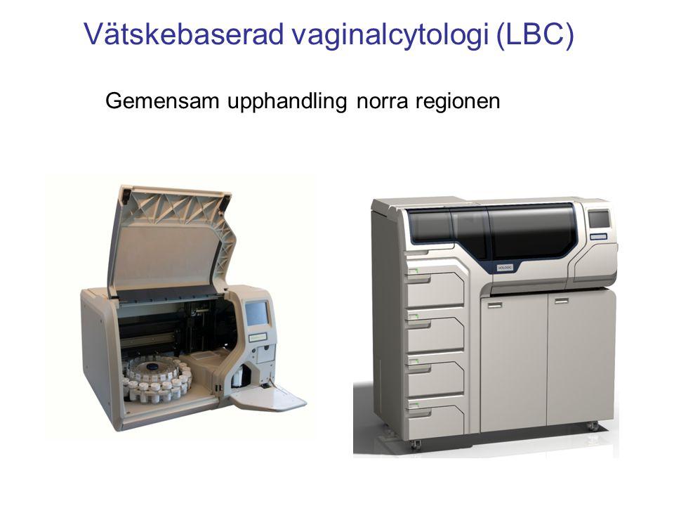 Vätskebaserad vaginalcytologi (LBC)