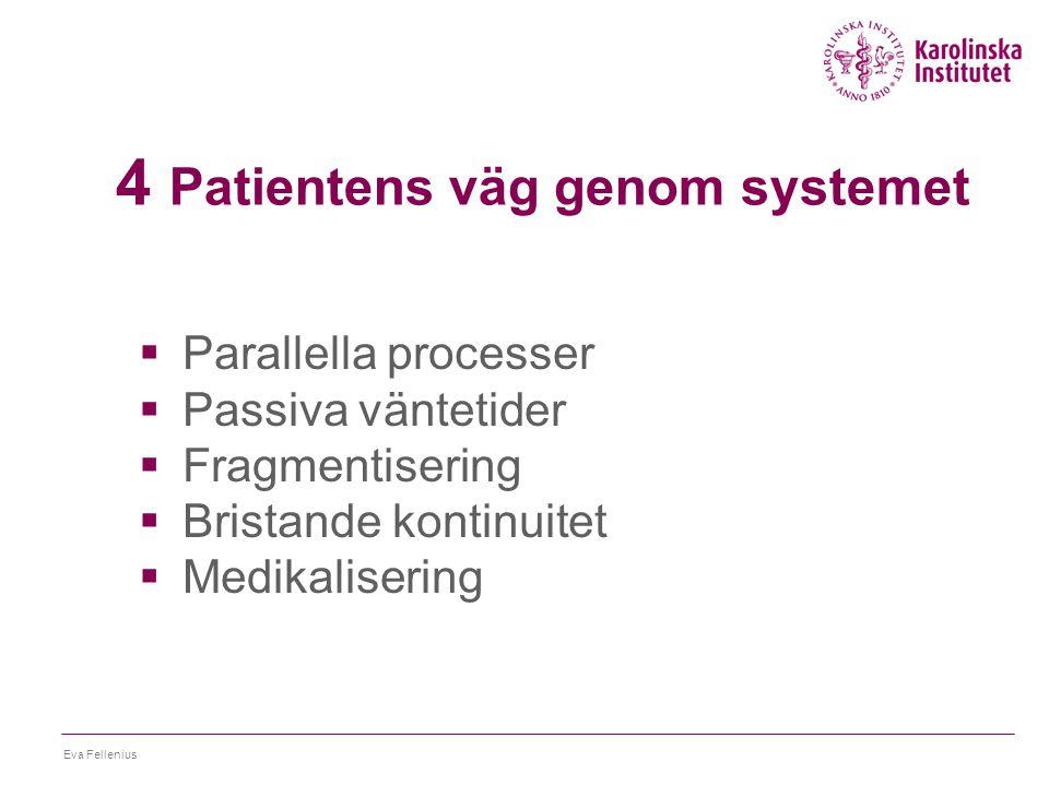 4 Patientens väg genom systemet