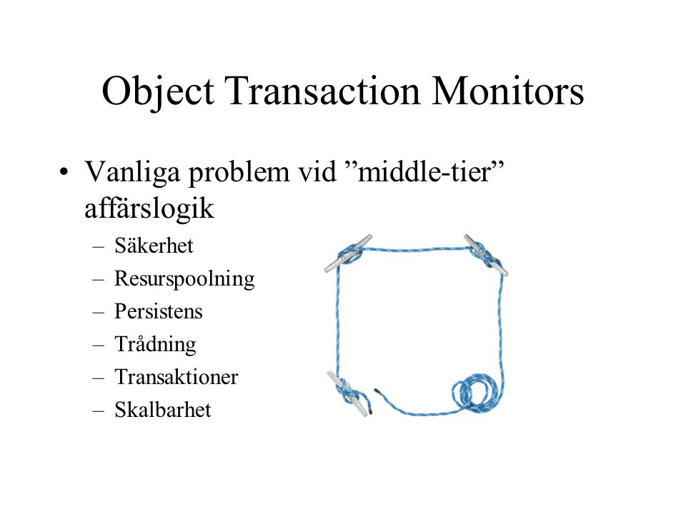 Object Transaction Monitors