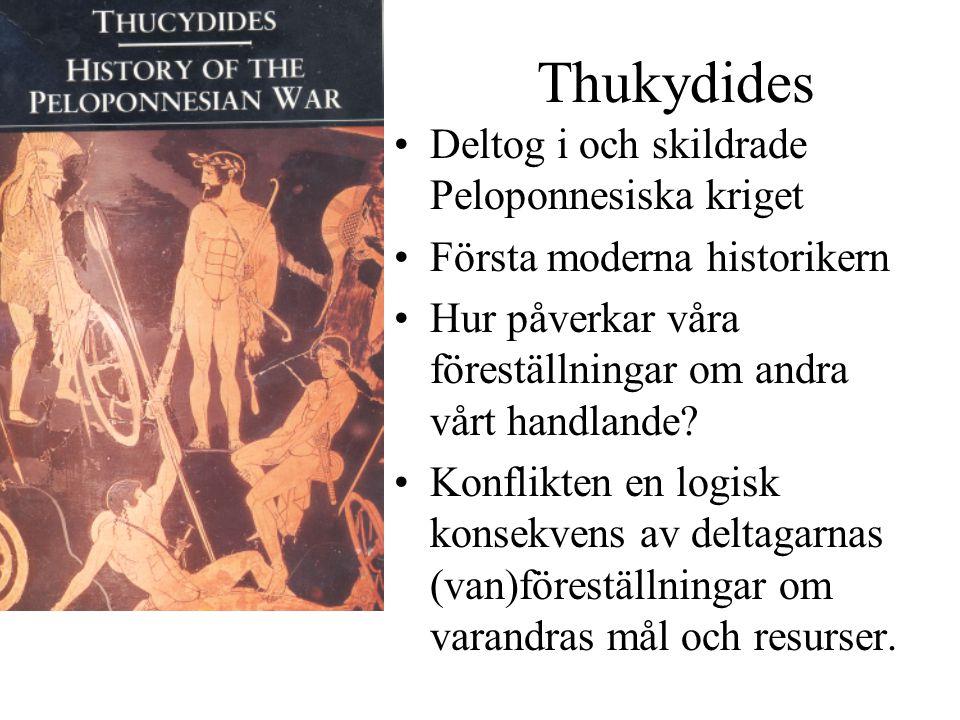 Thukydides Deltog i och skildrade Peloponnesiska kriget