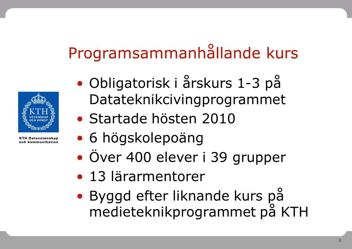 Programsammanhållande kurs