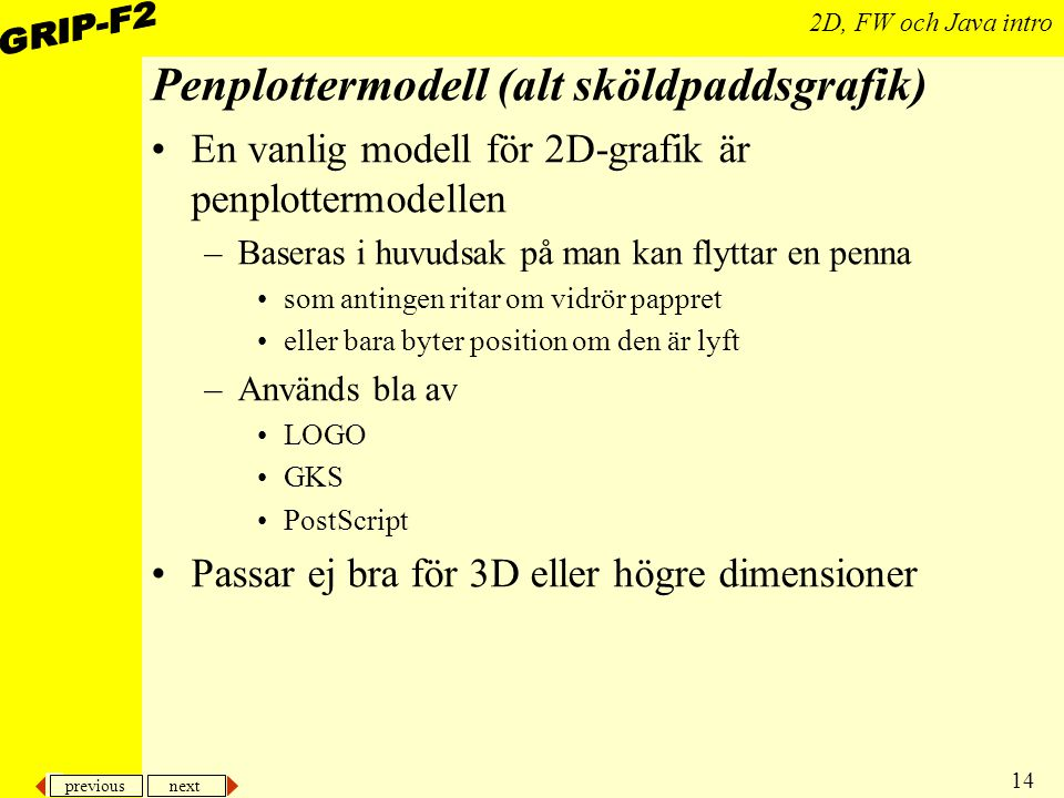 Penplottermodell (alt sköldpaddsgrafik)