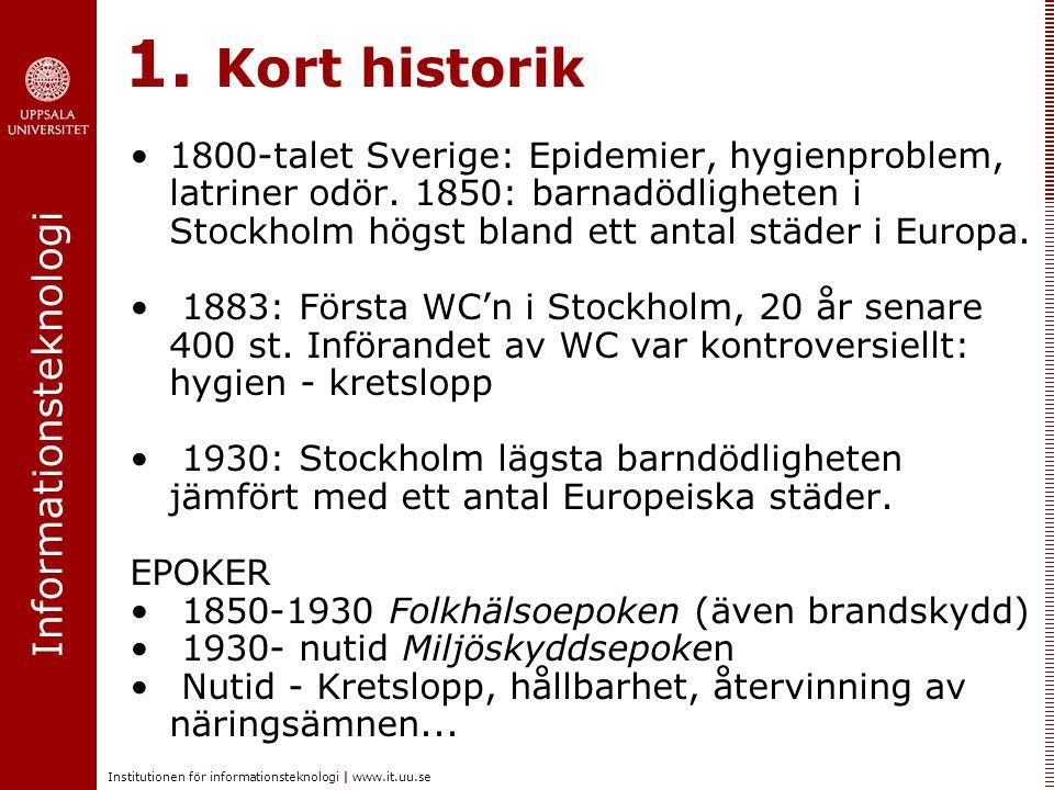 1. Kort historik