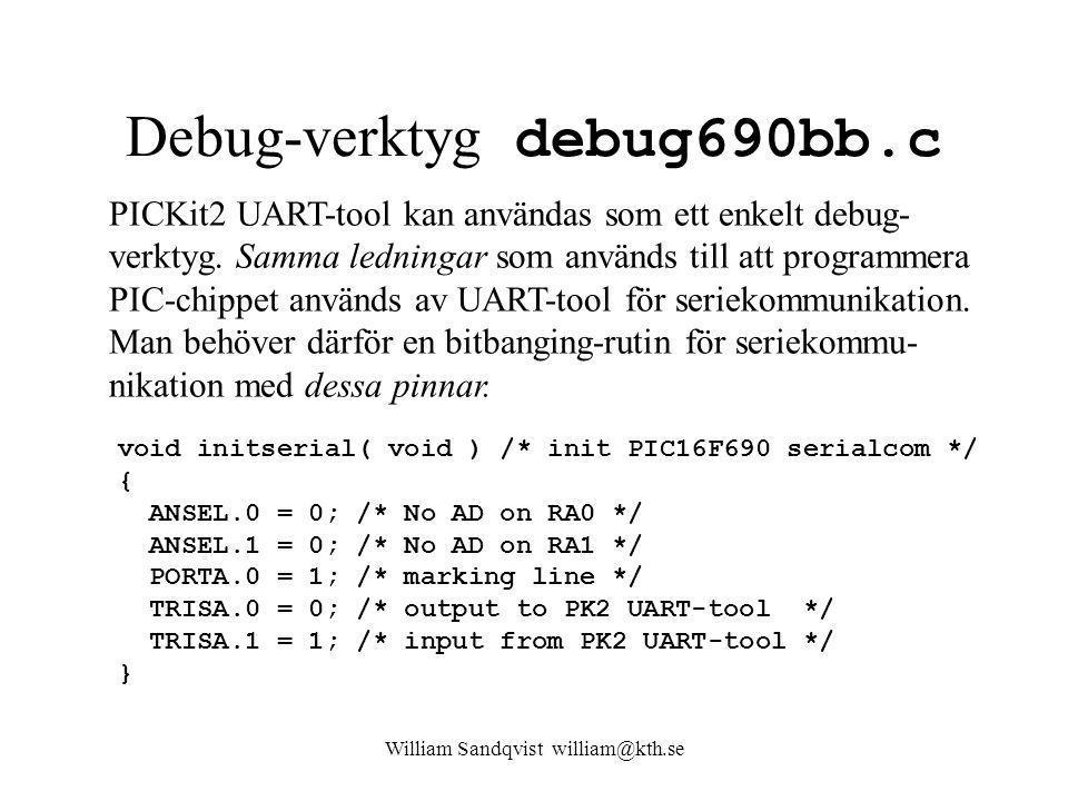 Debug-verktyg debug690bb.c