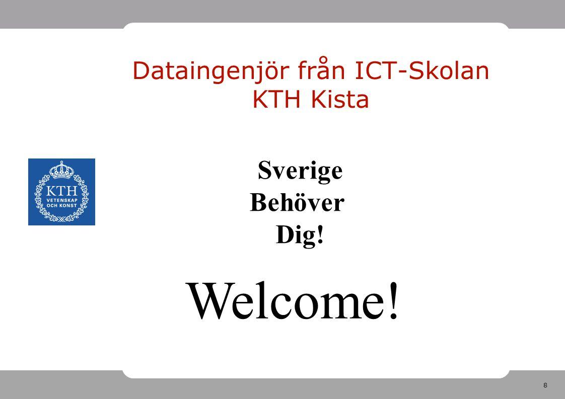 Dataingenjör från ICT-Skolan KTH Kista