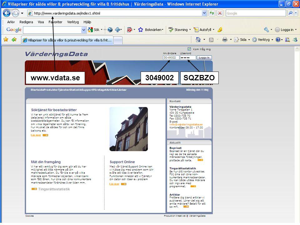 www.vdata.se 3049002 SQZBZO