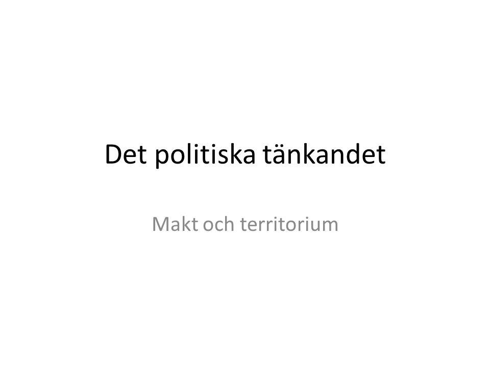 Det politiska tänkandet