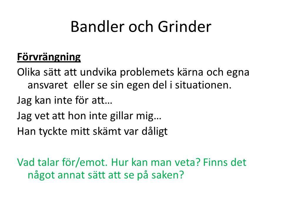 Bandler och Grinder