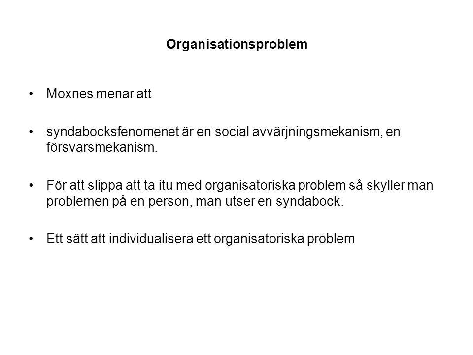Organisationsproblem