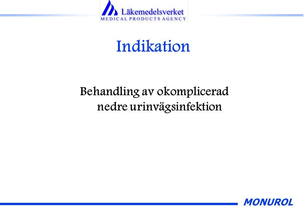 Behandling av okomplicerad nedre urinvägsinfektion