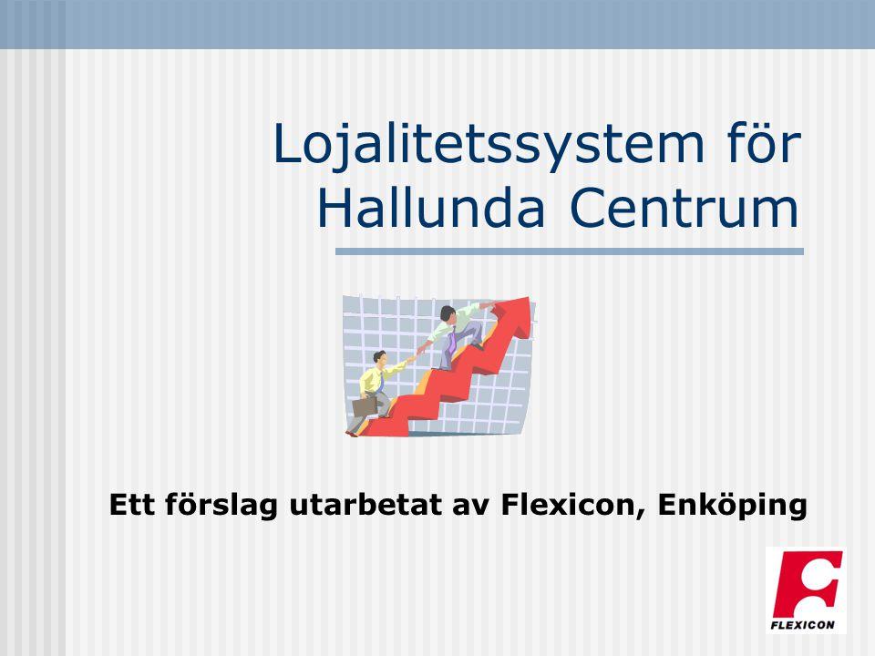 Lojalitetssystem för Hallunda Centrum