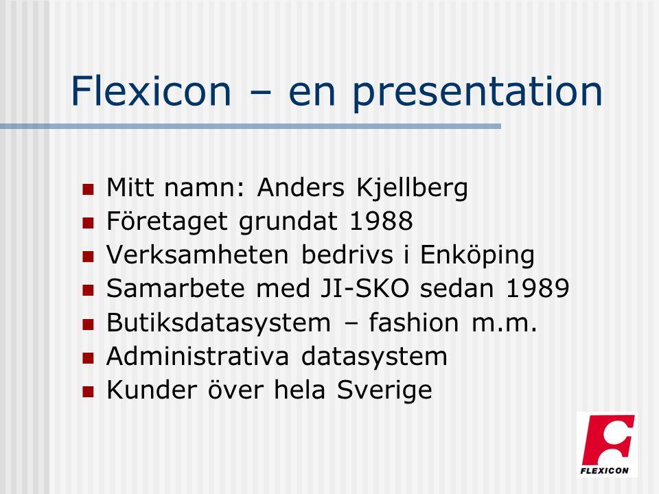 Flexicon – en presentation