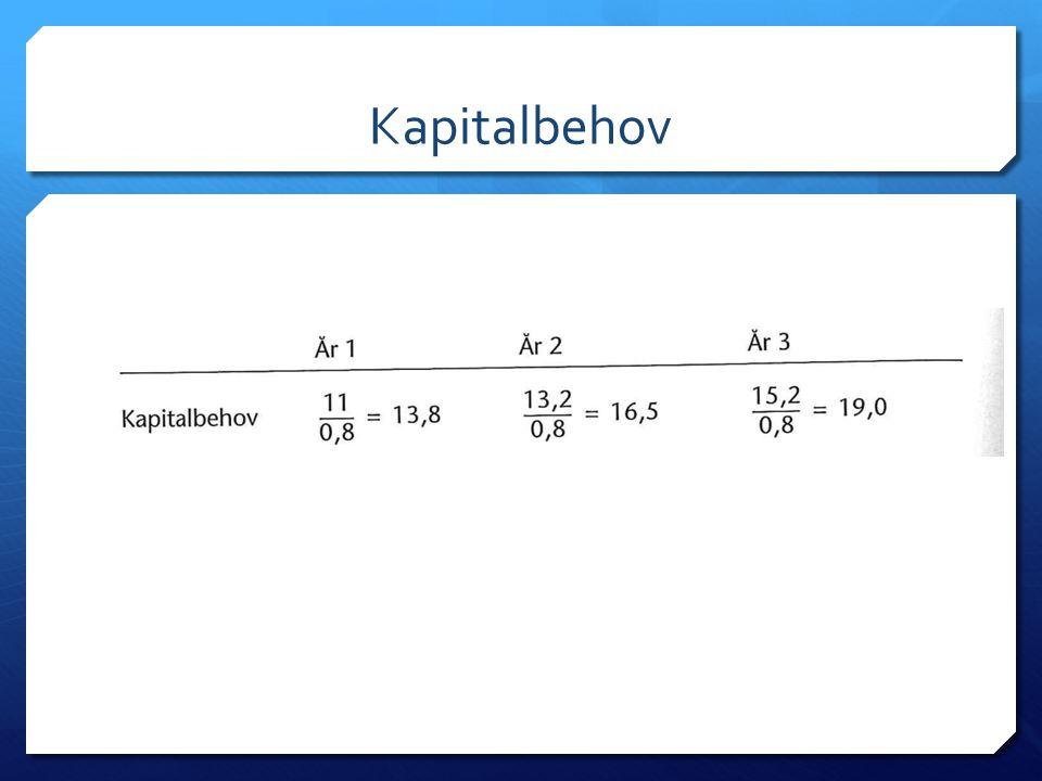 Kapitalbehov