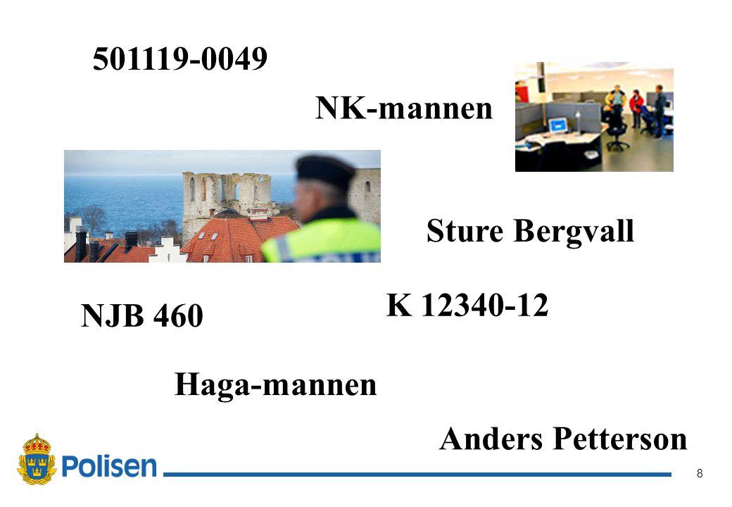 501119-0049 NK-mannen Sture Bergvall K 12340-12 NJB 460 Haga-mannen Anders Petterson
