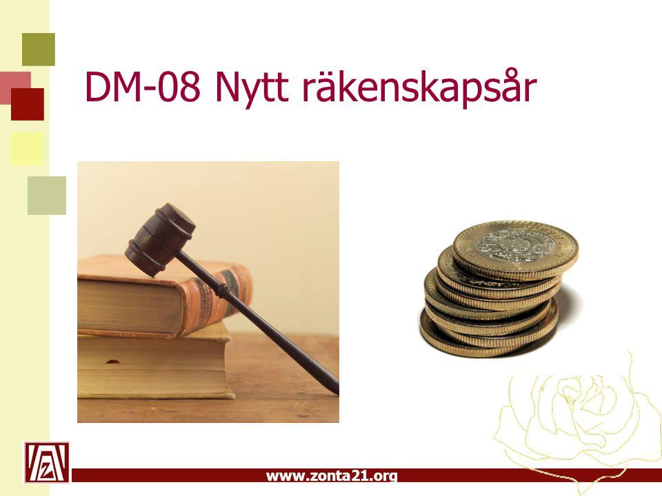 DM-08 Nytt räkenskapsår 2