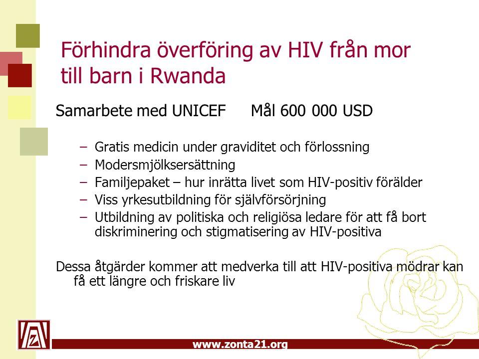 Förhindra överföring av HIV från mor till barn i Rwanda