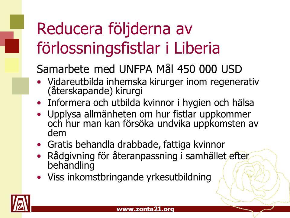 Reducera följderna av förlossningsfistlar i Liberia
