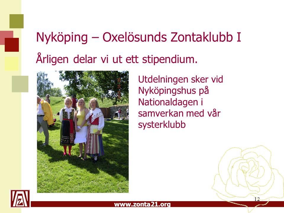 Nyköping – Oxelösunds Zontaklubb I