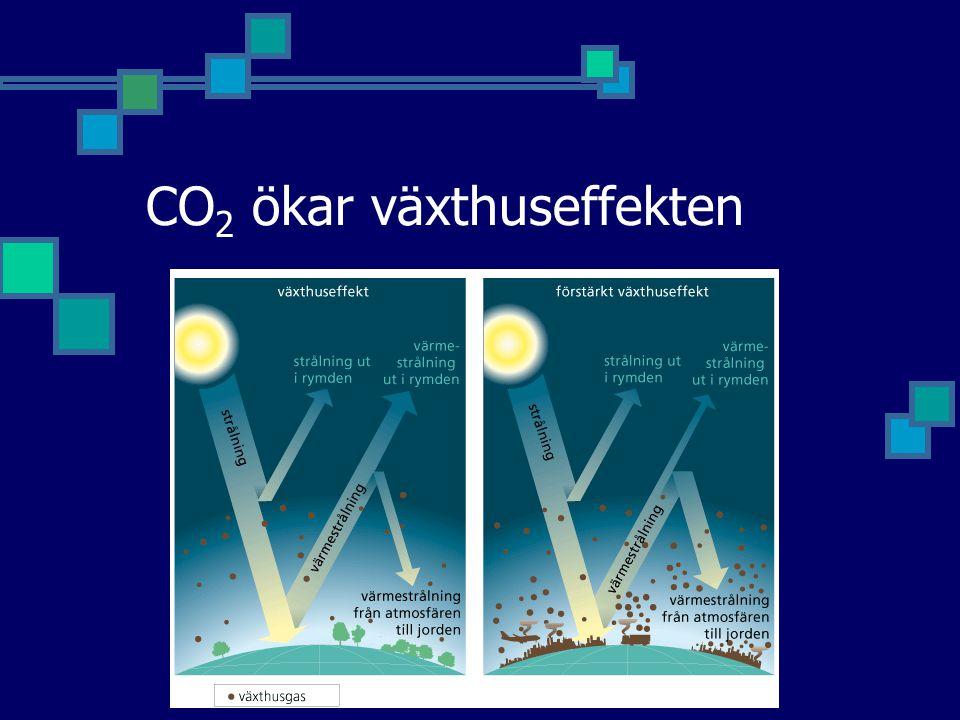 CO2 ökar växthuseffekten