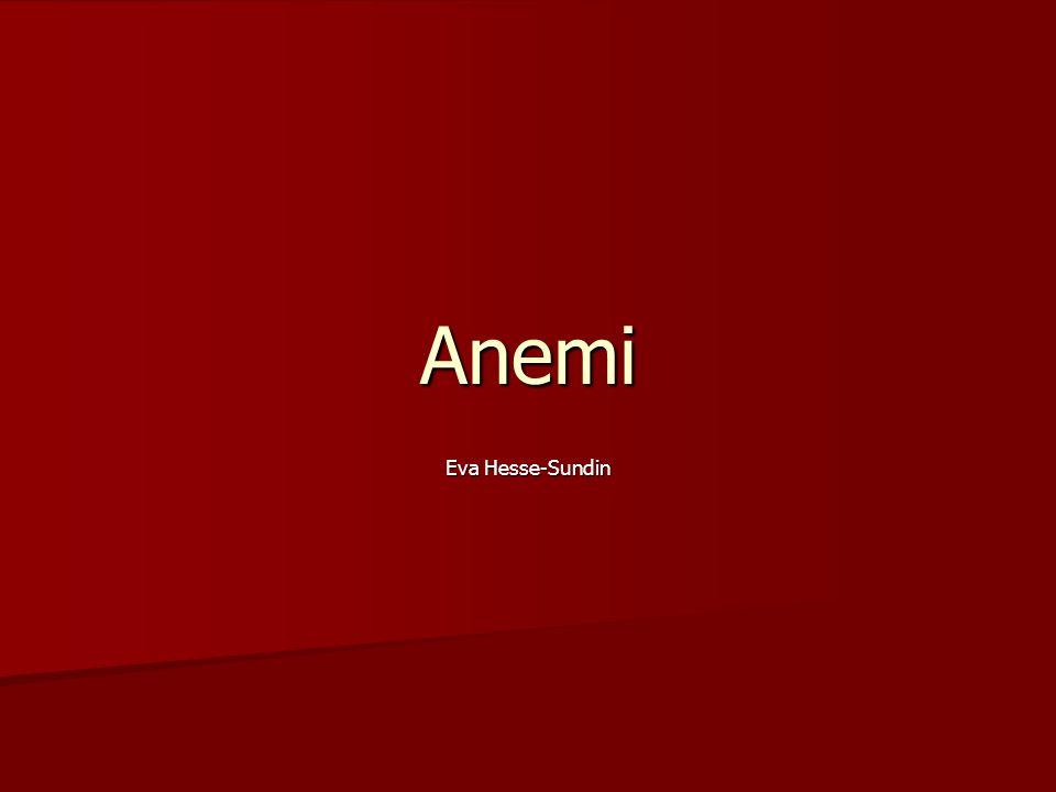 Anemi Eva Hesse-Sundin