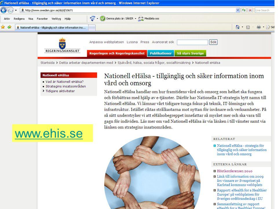 Rubrik www.ehis.se 2010-12-01