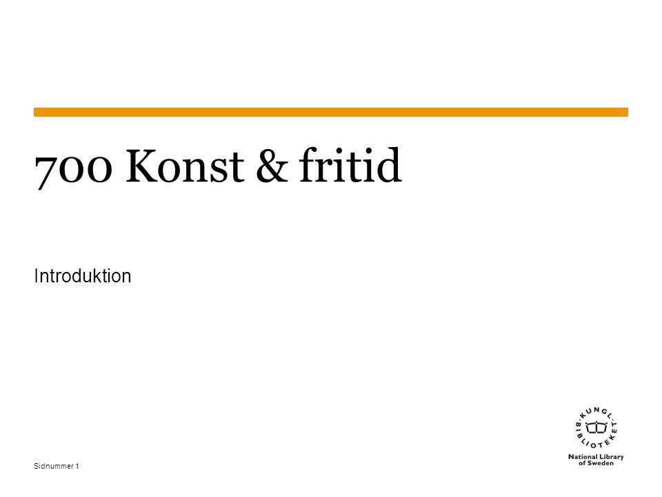 2017-04-06 700 Konst & fritid Introduktion