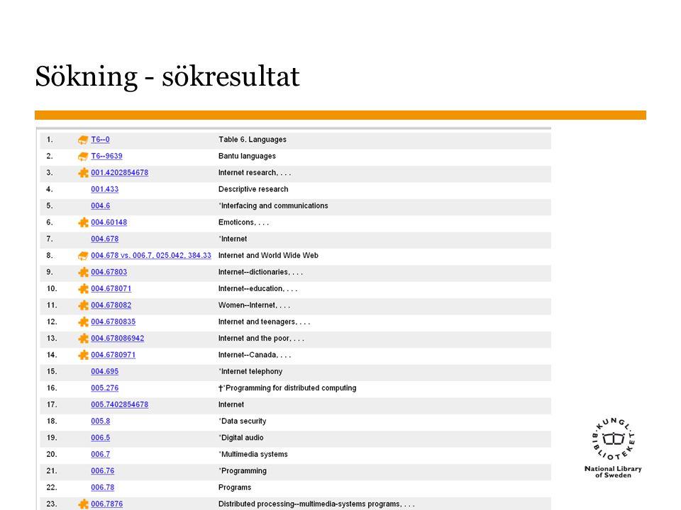 Sökning - sökresultat Pusselbiten står för byggt nummer. Boken för manualen 2013-01-22