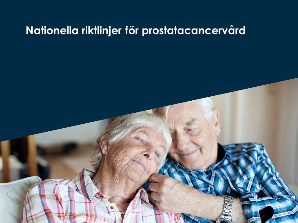 Nationella riktlinjer för prostatacancervård