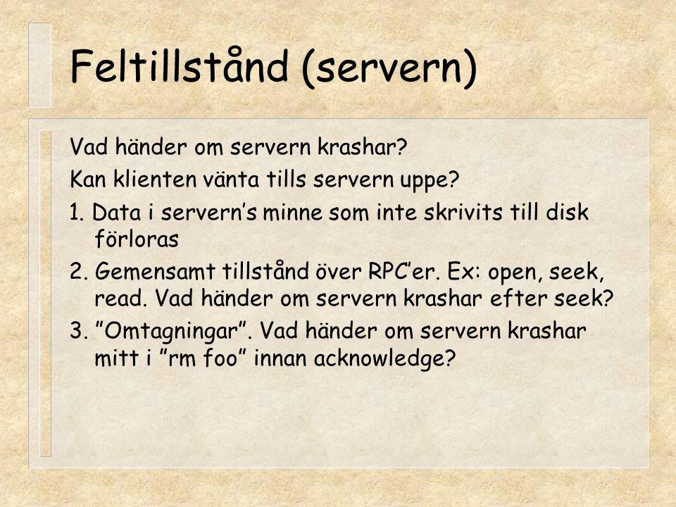 Feltillstånd (servern)