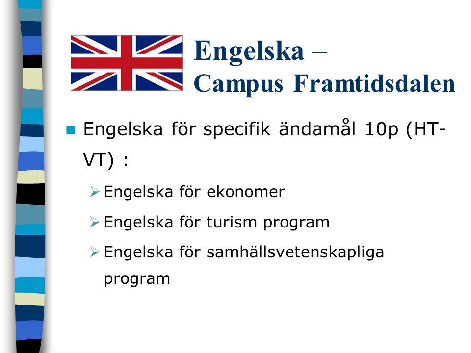 Engelska – Campus Framtidsdalen