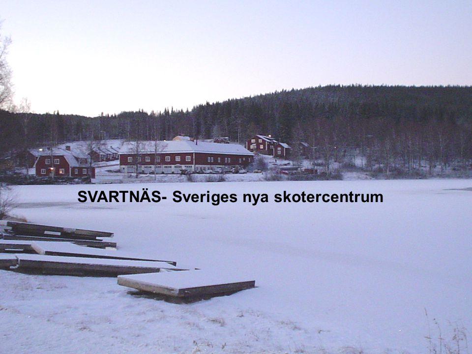 SVARTNÄS- Sveriges nya skotercentrum