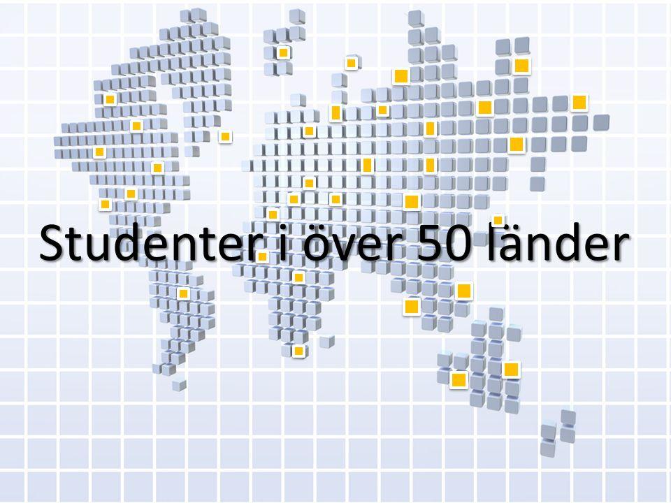 Studenter i över 50 länder