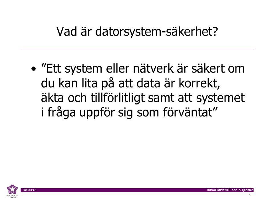 Vad är datorsystem-säkerhet