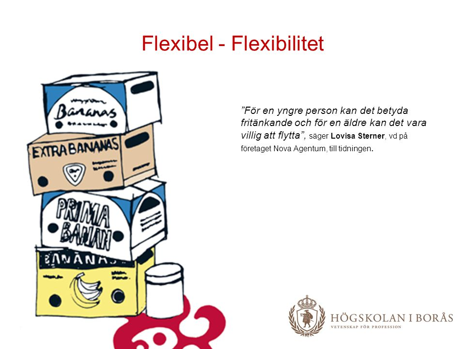 Flexibel - Flexibilitet