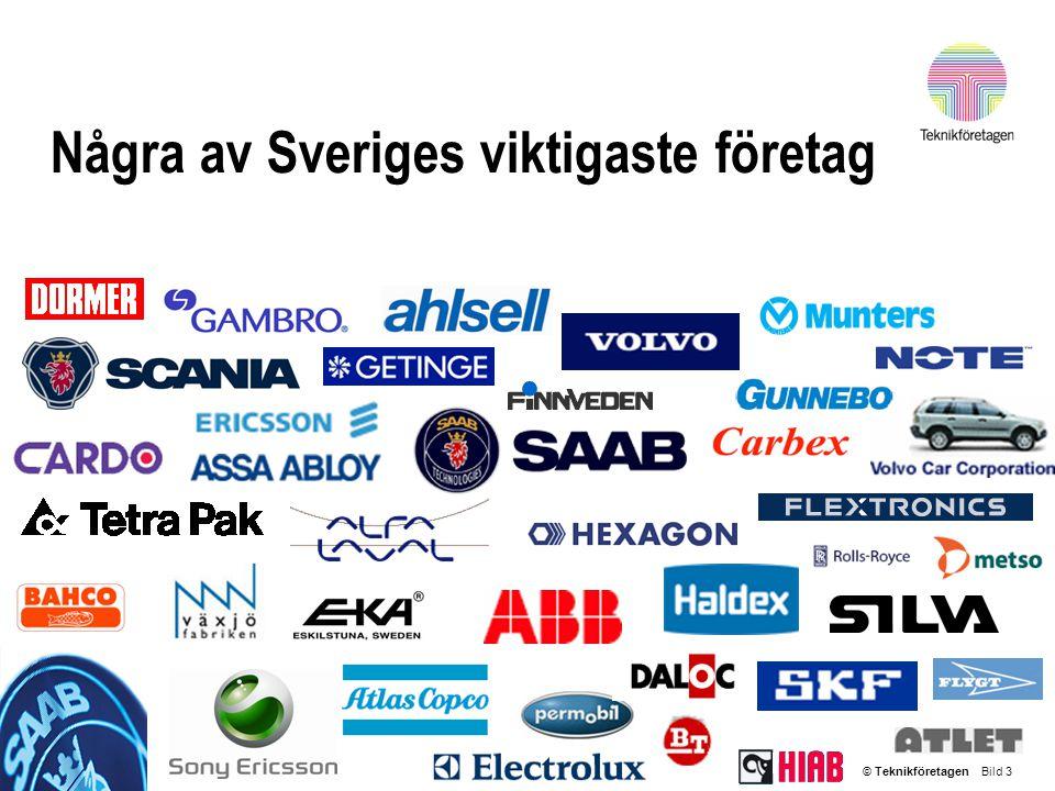 Några av Sveriges viktigaste företag