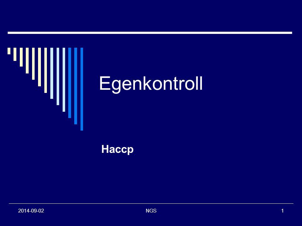 Egenkontroll Haccp 2017-04-06 NGS