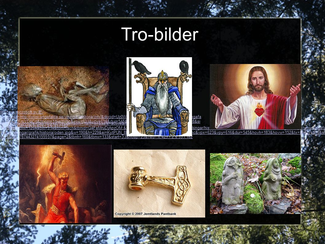 Tro-bilder