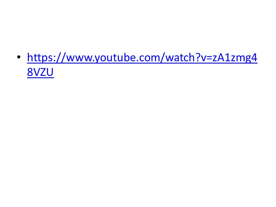https://www.youtube.com/watch v=zA1zmg48VZU