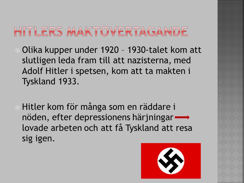 Hitlers maktövertagande