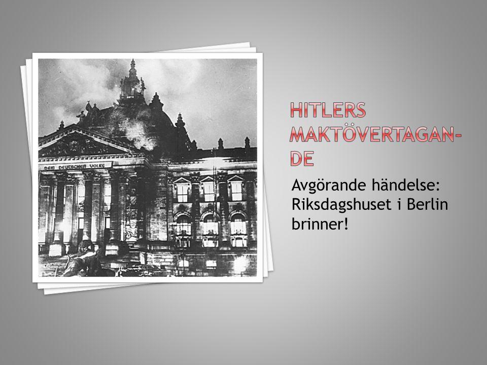 Hitlers maktövertagan-de