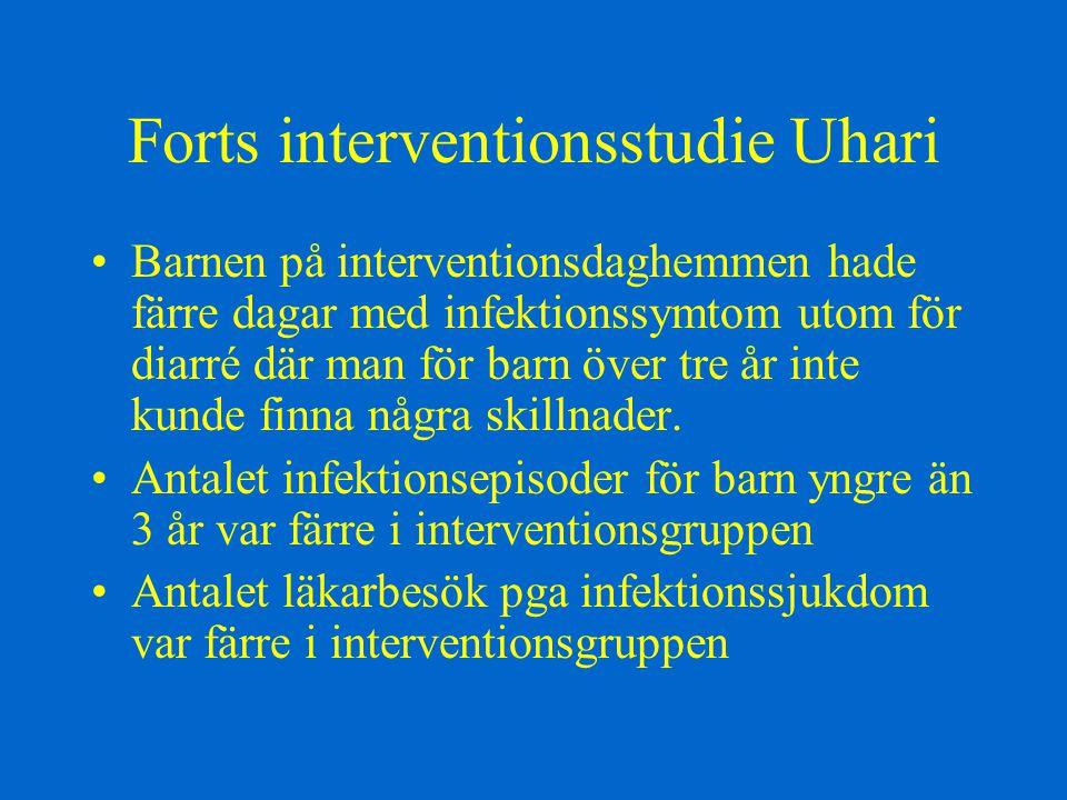 Forts interventionsstudie Uhari