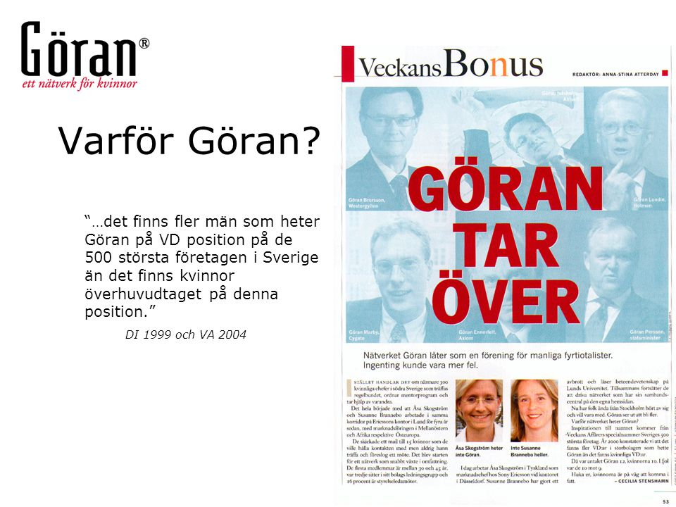 Varför Göran
