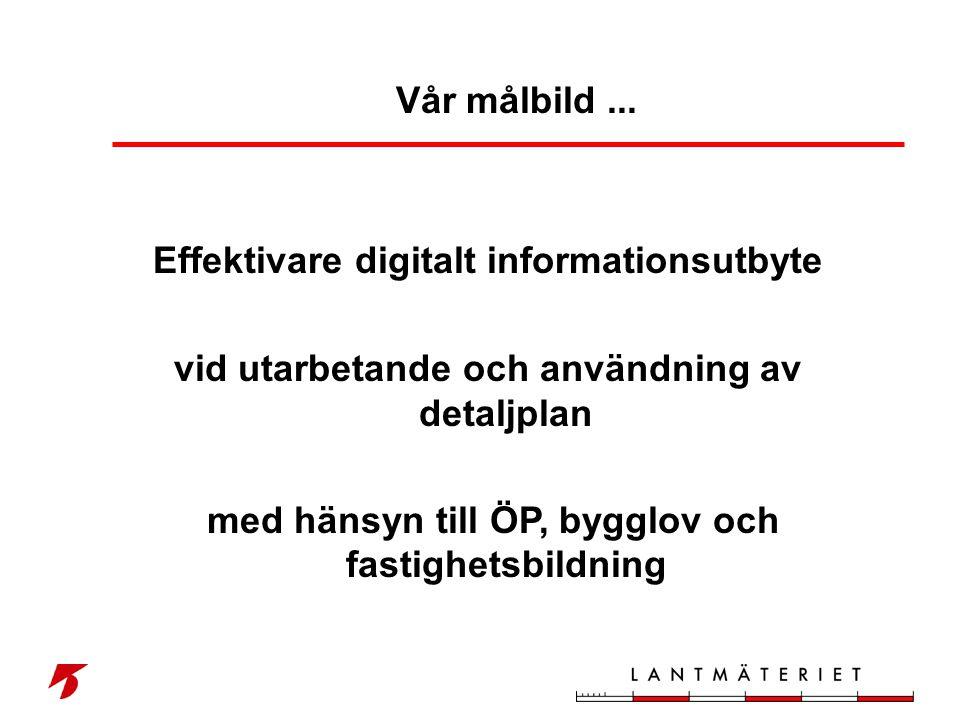 Effektivare digitalt informationsutbyte